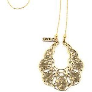 Gold Vanessa Mooney Cove Necklace